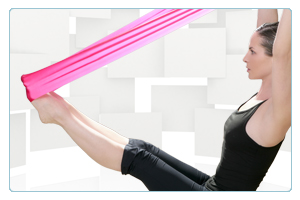 Pilates Video - Flow & Go with Band I<br/>w/ Carrie Campbell